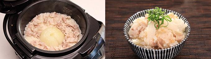 新 玉ねぎ 炊飯 器