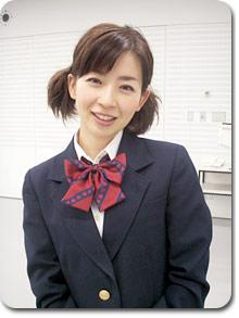松尾さん!制服似合いすぎです ...