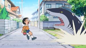 #166 空地上的大白鯊(空き地のジョーズ)