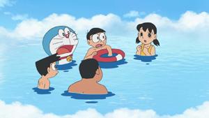#186 雲上游泳池(雲層泳池,雲の中のプール)