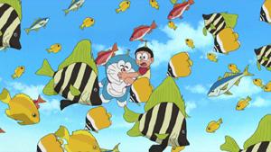 #505 在天空飛的魚(空とぶさかな)
