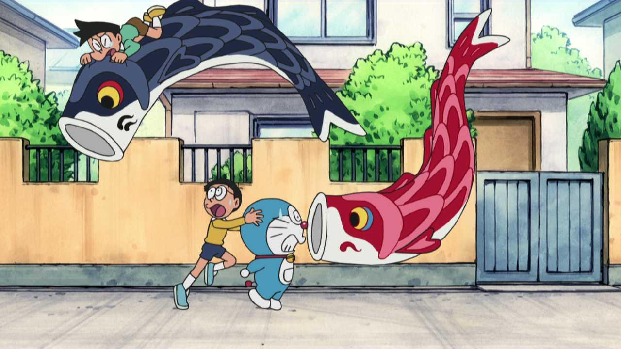 #612 捕捉鯉魚旗吧 (鯉のぼりをつかまえろ!)