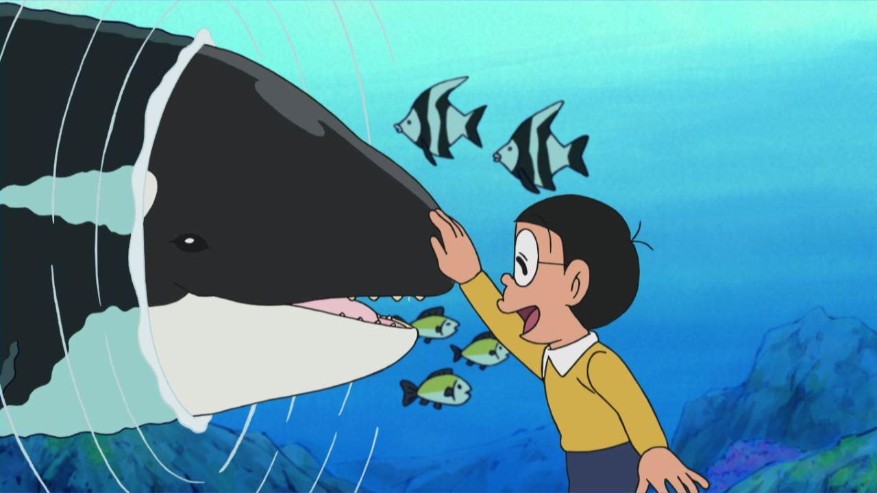 「友だちは大きなイルカ?」