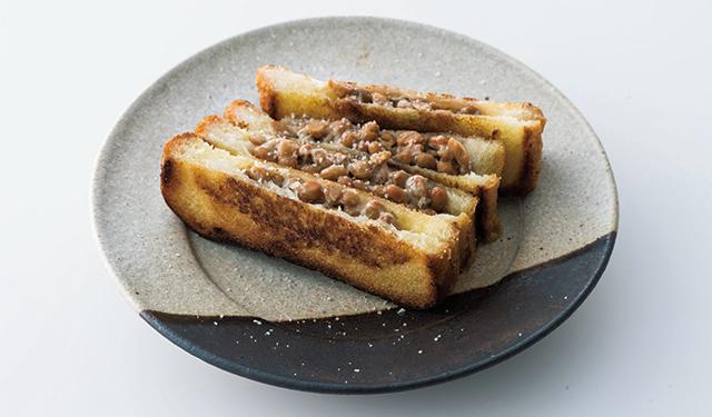 土井先生の納豆トースト